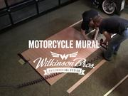 Watch free video Motorcycle Mural by Wilkinson Brothers