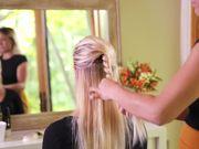 Watch free video Half Up Style Hair Tutorial