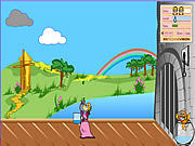 Juega al juego gratis Princess and the Pea Shooter Game