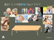 Watch free video Table Of The Future