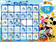 Juega al juego gratis Mickey Mouse and Friends - Beach Party