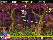 Juega al juego gratis Jungle Airplane