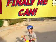 無料アニメのHe can ride bike cylceを見る