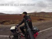 Watch free video Riding the Bike in Anatolia Winter 2014