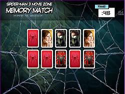 Spider-man 3 Memory Match game