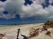 Mira dibujos animados gratis Turks And Caicos - Kiteboarding