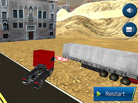 Highway Truck Driving game