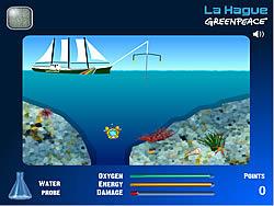 La Hague Greenpeace game