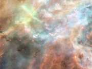 Watch free video Panning on the Tarantula Nebula
