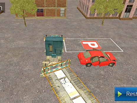 Tow Truck Parking game
