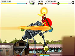 Ben 10 - Saving Sparksville game