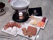 Watch free video Chocolate Fondue