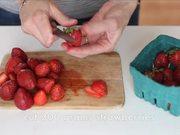 Watch free video Rhubarb Strawberry Basil Jam
