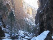 Watch free video Hiking The Narrows in Winter
