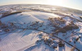 Watch free video Domaine de Grand Pré in the Winter Snow