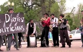 Watch free video Street Theater Performance From The White House