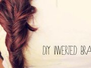 Watch free video DIY Inverted Braid
