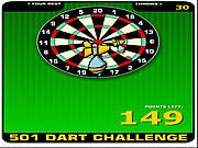無料ゲームの501 Dart Challengeをプレイ