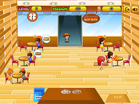 Play amy 39 s restaurant game online y8 com for Wmat game and fish