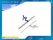 Ski Jump game