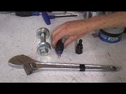 Watch free video Fixed Gear Bike. Installing Spline Drive Cranks