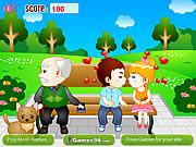 שחקו במשחק בחינם Park Kiss