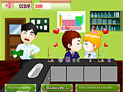 Laboratory Kiss game