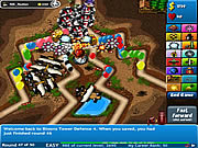 Gioca gratuitamente a Bloons Tower Defense 4