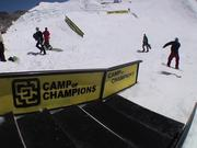 Watch free video The Park - Quebec Stairs Set Part 2 - Snowboard