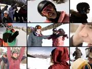 Watch free video Girls Shred Sessions - Snowboarding at it's best