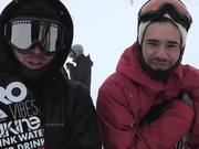 Watch free video The Park - Quebec Stairs Part 1 - Snowboard