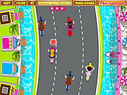 Juega al juego gratis Anita's Cycle Racing