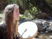 Improvisation By The River In Pisac, Peru