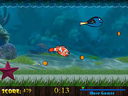 Underwater Racing game