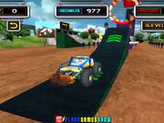 Watch free video Stunt Monster 3D Walkthrough