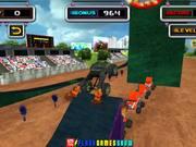 ดูการ์ตูนฟรี Stunt Monster 3D Walkthrough