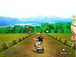 Jogar jogo grátis Sun Skater