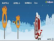 Christmas Cannon Blast game
