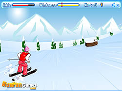 Skiing Dash game