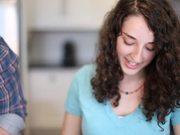 Watch free video Erin + Alex. Visit To Their Kitchen