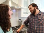 Mira dibujos animados gratis Erin + Alex. Visit To Their Kitchen