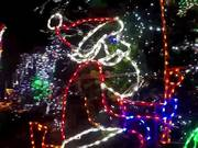 Watch free video Jamaica Estates Christmas House Lights
