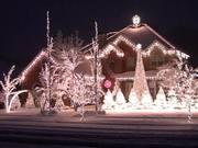 Watch free video Christmas Light Show