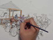 ดูการ์ตูนฟรี Albert's Drawings (Christmas)