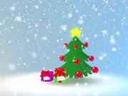 Mira dibujos animados gratis Happy Holidays Card