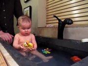 Ruby Takes A Bath