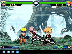 Juega al juego gratis Anime Fighting Jam Wing
