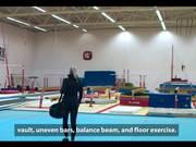Watch free video Women's Artistic Gymnastics At Gerpla