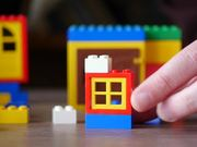 Watch free video Playing with LEGO Parts, Bricks and Pieces