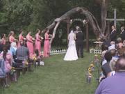 William & Laura's Beautiful Country Ceremony